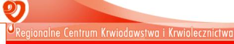 Regionalne Centrum Krwiodawstwa i Krwiolecznictwa w Raciborzu-logo